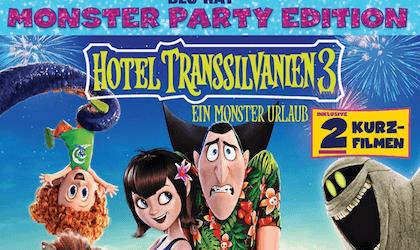Gewinnspiel: Hotel Transsilvanien 3 - Ein Monster Urlaub (BD)