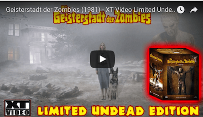 Geisterstadt der Zombies (1981) - XT Video Limited Undead Edition Unboxing
